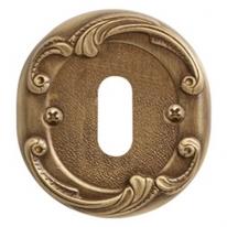 Накладка под сув. ключ к ручке Val De Fiori Николь, Бронза состаренная с эмалью