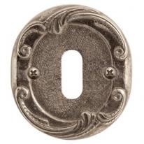 Накладка под сув. ключ к ручке Val De Fiori Николь, Латунь состаренная