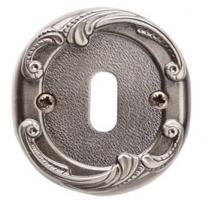 Накладка под сув. ключ к ручке Val De Fiori Николь, Серебро античное блестящее