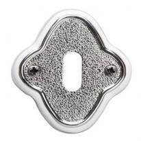Накладка под сув. ключ к ручкам Val De Fiori Амуаж и Аморе, Хром блестящий с эмалью