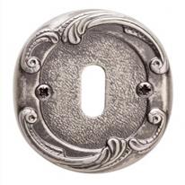 Накладка под сув. ключ к ручкам Val De Fiori Соланж и Наполи, Серебро античное