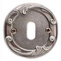 Накладка под сув. ключ к ручкам Val De Fiori Соланж и Наполи, Серебро античное Блест.