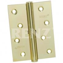 Петля дверная универсальная Renz, (Правая), Латунь матовая