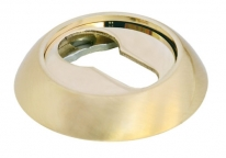 Накладка на цилиндр Morelli Mh-Kh SG/GP Золото матовое/Золото