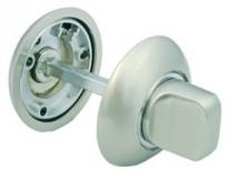 Завертка сантехническая Morelli Mh-Wc SN-CP Белый никель/Хром