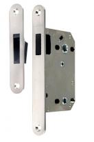 Защелка сантехническая магнитная Morelli на 70 мм (корпус металл), Никель