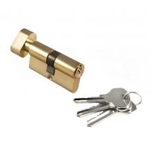 Ключевой цилиндр Morelli с поворотной ручкой 60Ck Pg, Золото