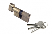 Ключевой цилиндр Morelli с поворотной ручкой 60Ck Ab, Бронза
