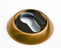 Накладки на цилиндр Archie, Матовое золото