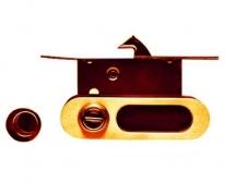 Ручка для раздвижной двери Archie, Золото матовое  (Защелка, Фиксатор)