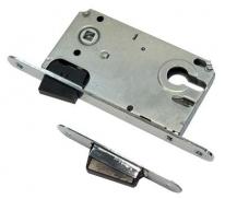 Защелка магнитная врезная, под ключевой цилиндр, Archie-Sillur, Хром