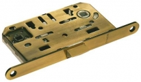 Защелка магнитная врезная, под ключевой цилиндр, Archie-Sillur, Античная бронза / Античный кофе