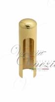 Колпачок для ввертных петель Venezia CP14 U без пешки D14 мм полированная латунь