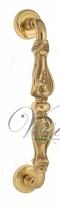 Ручка дверная скоба Venezia Florence 310мм (260мм) D1 полированная латунь