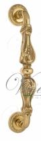 Ручка дверная скоба Venezia Florence 313мм (260мм) D2 полированная латунь
