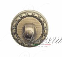 Фиксатор поворотный Venezia WC-1 D2 матовая бронза