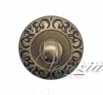 Фиксатор поворотный Venezia WC-1 D4 матовая бронза