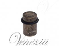 Ограничитель дверной напольный Venezia ST3 античная бронза