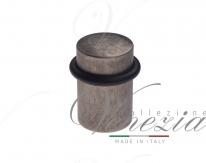 Ограничитель дверной напольный Venezia ST3 античное серебро