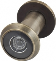 Глазок дверной Armadillo, пластиковая оптика Dv1, 16/35Х60 Ab Бронза