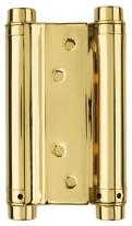 """Петля Пружин. Двусторонняя Armadillo Das Ss 201-5"""" (125*86*1.5) Gp Золото 36 мм"""