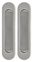 Ручка Для Раздвижных Дверей Sh010-Sn-3 Мат. Никель, Armadillo  2 шт.