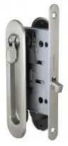 Ручка для раздвижной двери комплект Armadillo Sh011-Bk Sn-3 Никель матовый