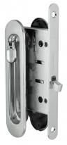 Ручка для раздвижной двери комплект Armadillo Sh011-Bk Сp-8 Хром