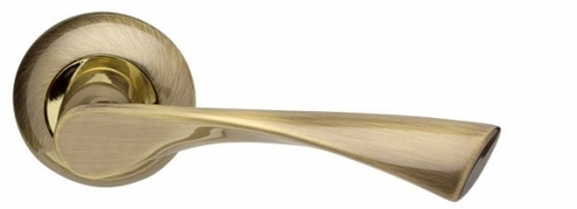 Ручка Раздельная Corona Ld23-1Ab/Gp-7 Бронза/Золото, Armadillo