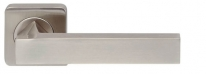 Ручка дверная на квадратной розетке Armadillo Corsica Sq003-21Sn-3 Никель матовый