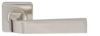 Ручка дверная на квадратной розетке Armadillo Kea Sq001-21Sn-3 Никель матовый