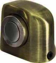 Ограничитель дверной напольный магнитный Armadillo Mds-003Za Ab Бронза