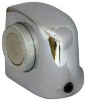 Ограничитель дверной напольный магнитный Armadillo Mds-003Za Cp Хром