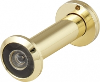Глазок дверной Fuaro Dvz2, 16/200/60X100 (Оптика Пластик, Угол Обзора 200) Gp Золото