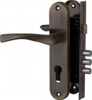 Комплект дверной Fuaro Set F1511W/B Ab