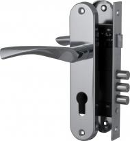 Комплект дверной Fuaro Set F1511W/B Cp