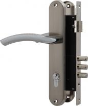 Комплект дверной Fuaro Set F9013 Sn/Cp