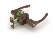 Ручка дверная кноб Fuaro 829 Ac-E (Медь) Ключ/Фиксатор