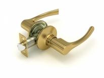 Ручка дверная кноб Fuaro 829 Sb-P (Золото матовое) Без фиксатора