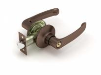 Ручка дверная кноб Fuaro 882 Ac-E (Медь) Ключ/Фиксатор