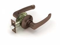 Ручка дверная кноб Fuaro 882 Ac-P (Медь) Без фиксатора