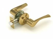Ручка дверная кноб Fuaro 894 Pb-P (Золото) Без фиксатора