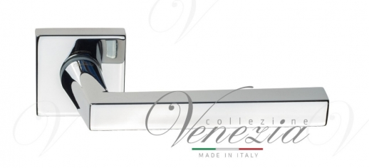 Ручка дверная на квадратной розетке Venezia Unique
