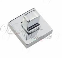 Фиксатор поворотный квадратный Venezia Unique WC-20 полированный хром
