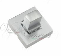 Фиксатор поворотный квадратный Venezia Unique WC-20 матовый хром