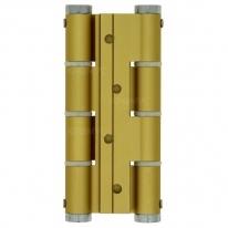 Петля пружинная двойная Justor DA 120 5414.02 (Толщ. До 40мм) Золото матовое