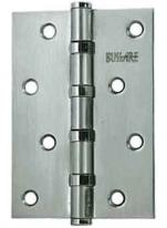 Петля дверная универсальная Bussare B020-C 100х75х2.5-4Bb-1Sc, Хром Матовый