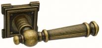 Ручка дверная на квадратной розетке Adden Bau Vintage Castello Vq212 Aged Bronze, Бронза состаренная