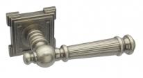 Ручка дверная на квадратной розетке Adden Bau Vintage Castello Vq212 Aged Silver, Серебро состаренная