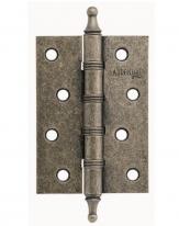 Петля дверная универсальная  Adden Bau Vitage 4W, Серебро состаренное